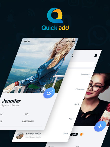 quickadd android app development